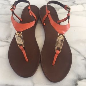 Beautiful Tory Burch Leather Sandals